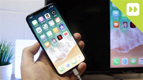 how to connect iphone x to tv screen mirroring guide