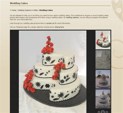 Wedding Cake Caterers by Caterers All Malta Business