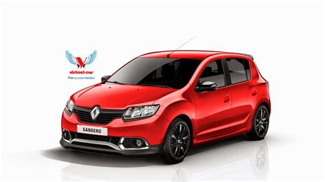 renault sandero dacia sandero rs wearing renault badges rendered