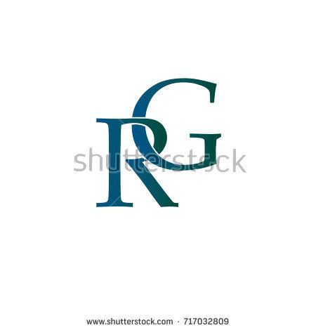 rg logo design www pixshark com images galleries with letter rg element logo design stock vector 717032809