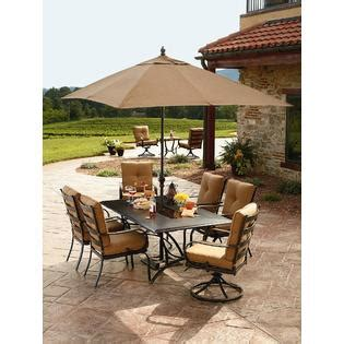 Grand Resort Patio Furniture Grand Resort Sunset Place 7 Dining Set Outdoor Living Patio Furniture Dining Sets