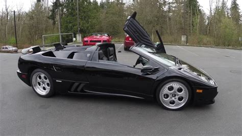 Lamborghini Diablo Roadster For Sale by 1999 Lamborghini Diablo Roadster Vt For Sale