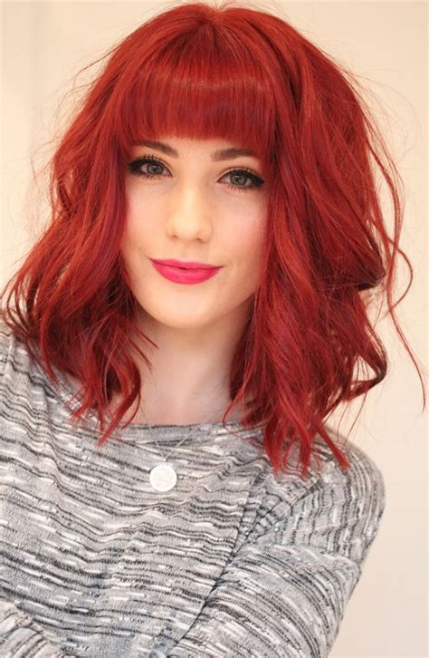 long red bob 15 long bob haircuts and hairstyles for an attractive look