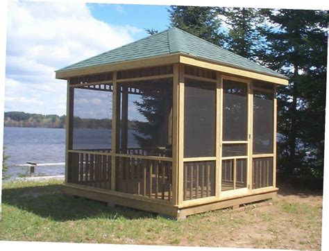 enclosed gazebo enclosed gazebo plans gazebo ideas