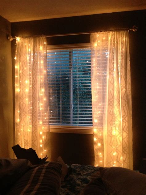 sheer curtains with christmas lights christmas decore