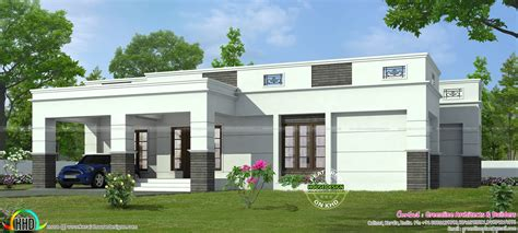 www kerala home design blogs 4 bedroom single storied flat roof home kerala home