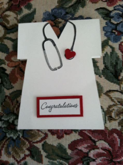 Nursing School Gifts For Friends by Card I Made For A Friend Whose Is Graduating From