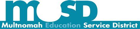 mesd logo letterhead style guide multnomah education