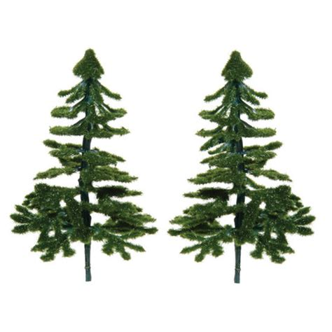 miniature artificial pine trees christmas miniatures