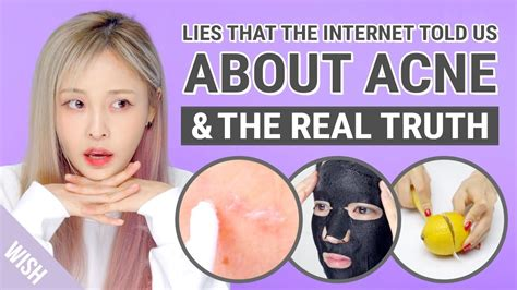 13 Surprising Myths About Acne by Acne Lies 5 Myths On Acne