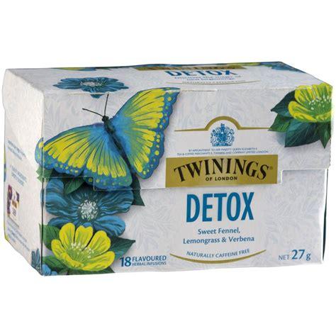 Detox Tea Sleepy by Twinings Detox 18pk Woolworths