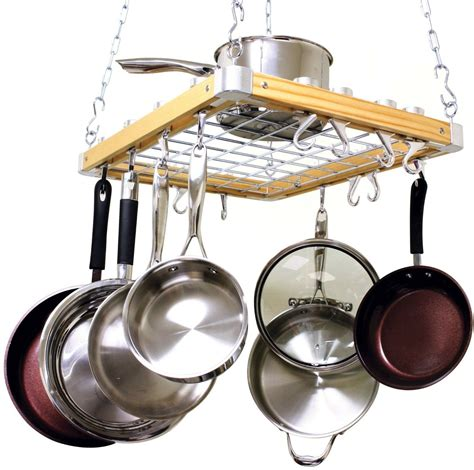 hanging pot rack in cabinet hsm pot racks pot 100 kitchen storage ideas for pots and