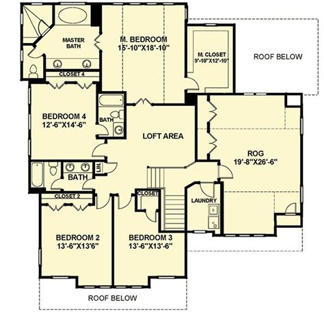 traditional open floor plans plan 30081rt open floor plan farmhouse traditional