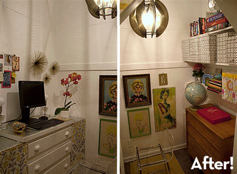 holly s closet home office makeover before after before and after holly s amazing closet office makeover