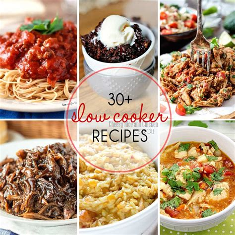 30 must try slow cooker recipes yummy healthy easy
