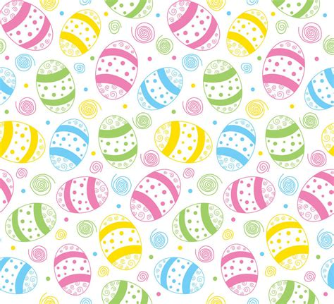 easter pattern background easter spring seamless print pattern 3 by doncabanza on