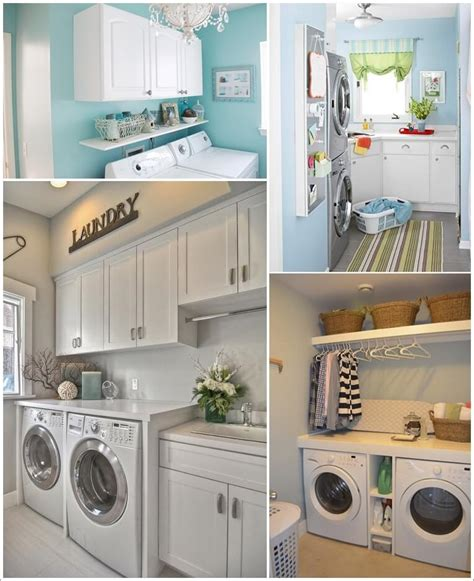 Small Laundry Room Decor 60 Beautiful Small Laundry Room Designs