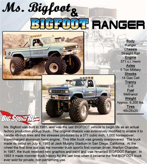 bigfoot monster truck history monster truck madness 11 bigfoot ranger replica 171 big
