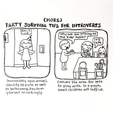 introvert survival tactics how to make friends be i doodle introvert comics to express how i feel bored panda