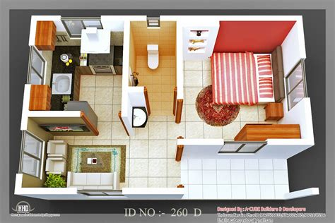 home design plans indian style 3d 3d isometric views of small house plans kerala home