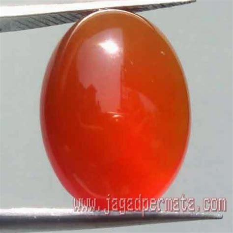 batu sunkist orange keladen jual batu permata hobi permata