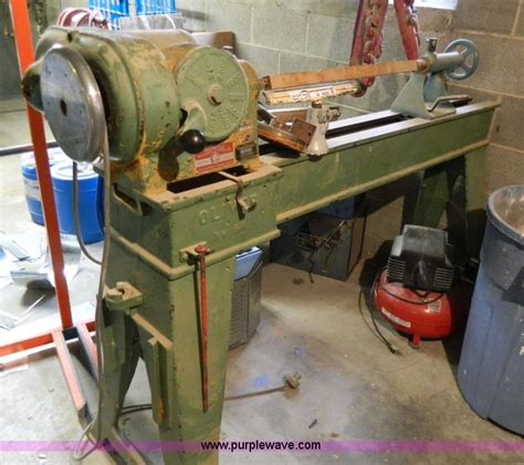 woodworking lathes sale oliver wood lathe item w9028 sold may 7 government