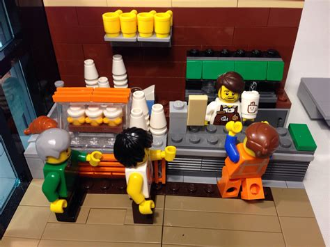 lego peter parker s apartment living room 1 here is the the lego movie coffee chain moc mbl designs flickr