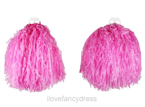 Pom Poms pom poms pair of large 10 quot coloured shakers