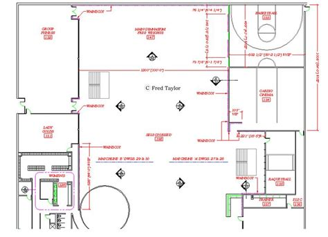 gym floor plans 17 best images about autocad drafting sles on pinterest