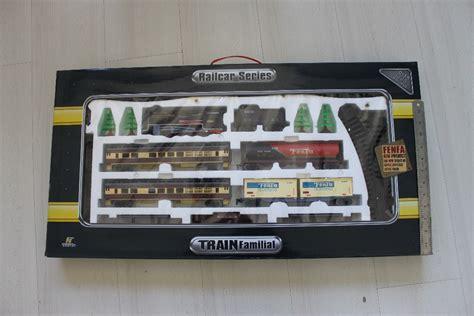 Mainan Kereta Api Rel Baterai Keluar Asap Suara Lu Terbaru jual mainan anak kereta api fenfa biru syafah toys