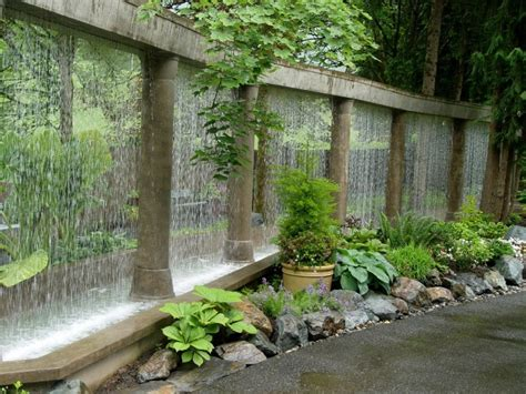 outdoor water features 54 garden water features awesome outdoor design ideas