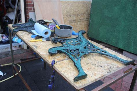 restore cast iron bench restore cast iron bench 28 images restoring edwardian