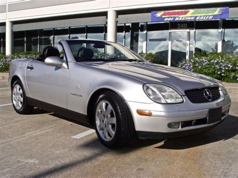how does cars work 1998 mercedes benz slk class parental controls purchase used 1998 mercedes benz slk230 supercharger kompressor convertible 99 clean carfax in