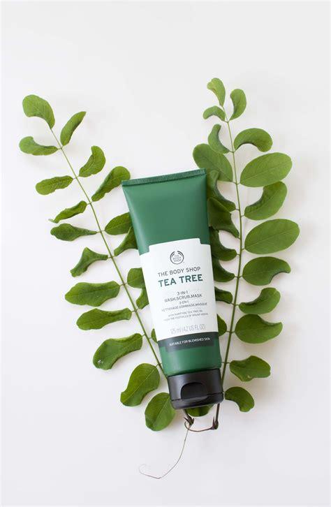 Scrub Tea Tree Shop review the shop tea tree 3 in 1 wash scrub mask zolea