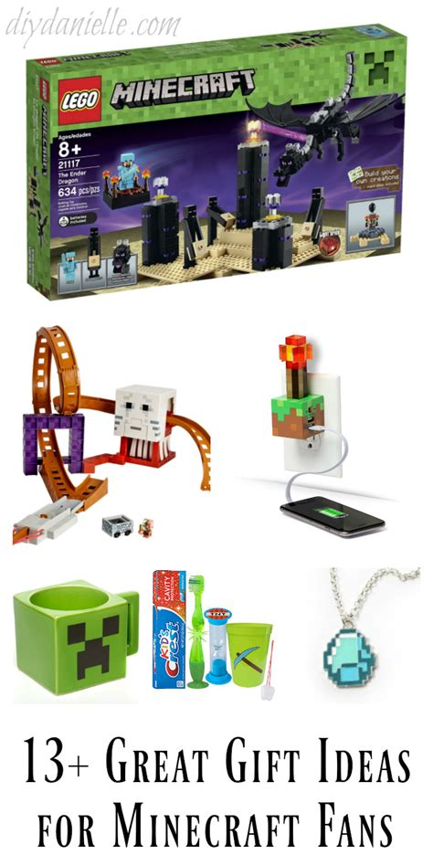 13 great gift ideas for minecraft fans diy danielle