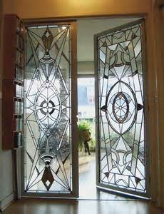 Glass Home Design Decor Art Deco Glass Doors Love That They Are Different Home