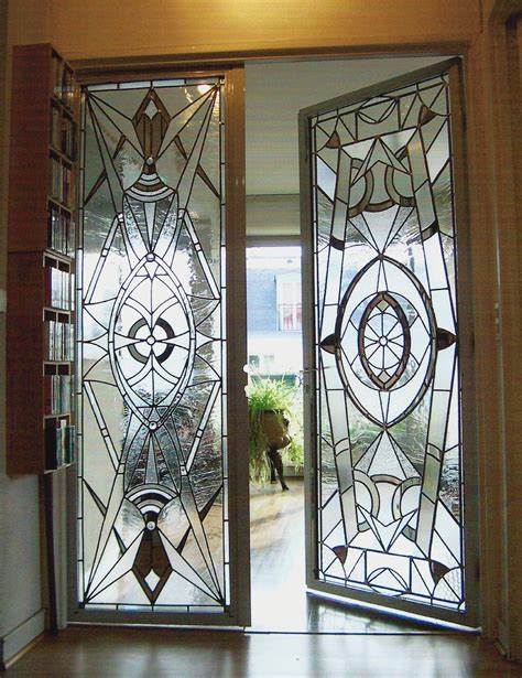 home decor glass art deco glass doors love that they are different home