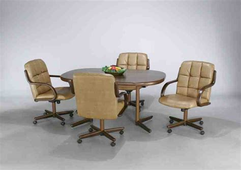 Kitchen Table And Chairs With Casters Kitchen Table And Chairs With Wheels Decor Ideasdecor Ideas