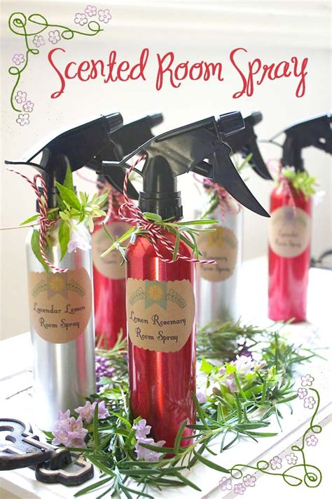 room spray recipe 50 diy gift ideas pretty handy