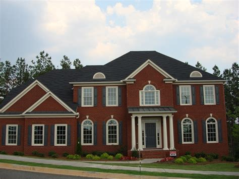 brick houses roofing decisions which shingles look best with red brick majestic roofing