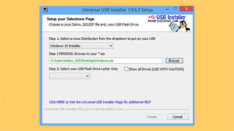 install linux iso usb windows 7 iso to usb installer tool windows and linux from usb