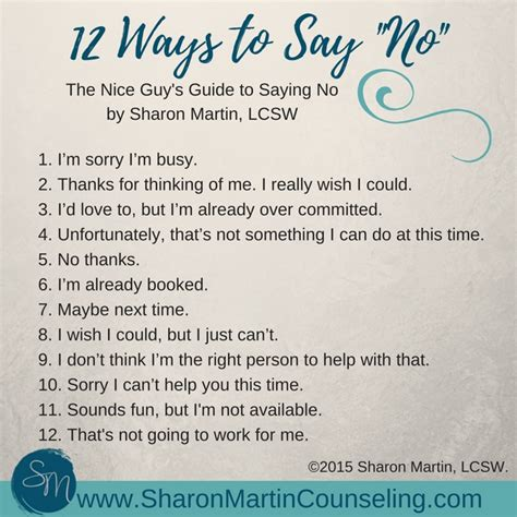 10 Tips To The With Someone New by S Guide To Saying No Martin Lcsw