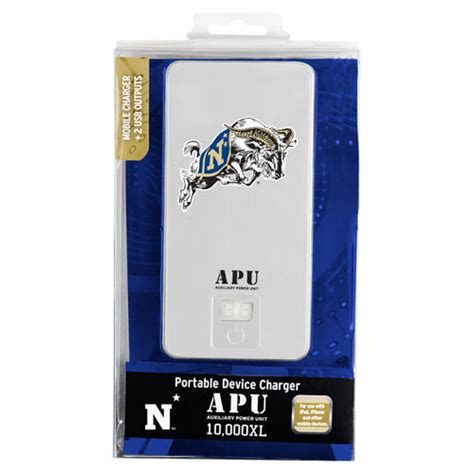 navy mobile navy midshipmen apu 10000xl usb mobile charger mobilemars