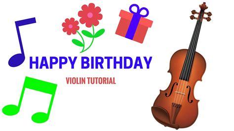 happy birthday instrumental violin mp3 download happy birthday on violin simple tutorial for beginners
