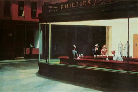 libro art hopper nighthawks c 1942 posters by edward hopper at allposters com