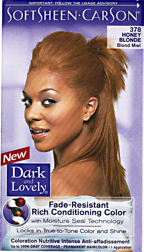 and lovely hair color fade resistant honey permanent hair color by