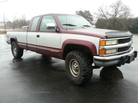 books about how cars work 1994 chevrolet 2500 seat position control find used 1994 chevrolet 2500 6 5 turbo diesel with upgrades nice truck window sticker in