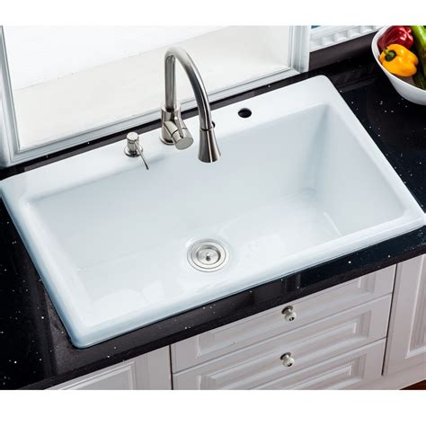 self rimming kitchen sinks 900mm cast iron enamel