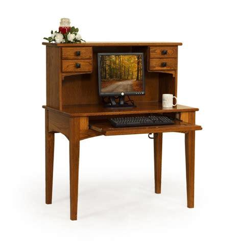 Small Desk And Hutch Small 40 Quot Writing Desk Hutch Amish Made Small 40 Quot Writing Desk Hutch Country Furniture