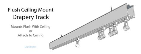 ceiling mount drapery track outdoor fabric guru